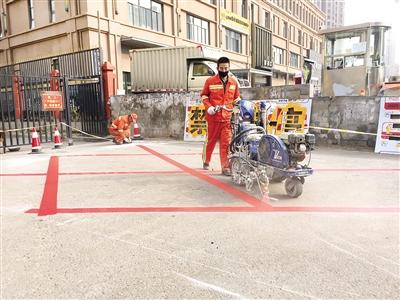 消防通道禁停区