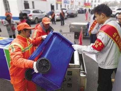 分类垃圾桶常见 垃圾分类仍不规范