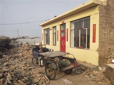 """警官学校东墙附近的""""大棚房""""大部分已拆除"""