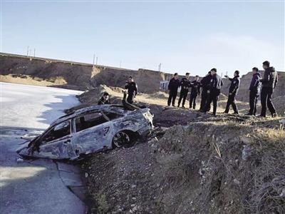 警方找到的肇事车辆