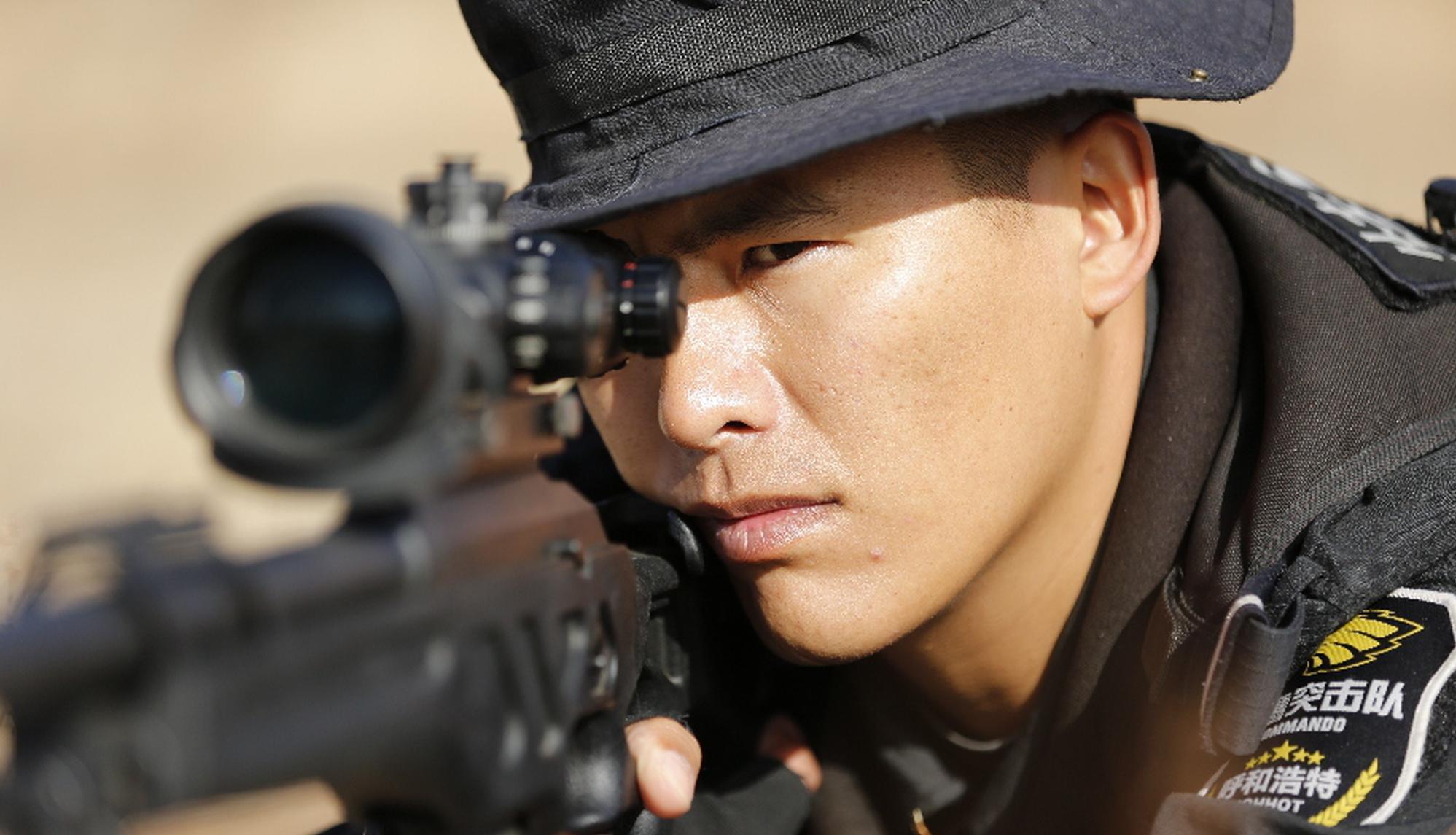 揭秘,特警狙击手是怎样炼成的