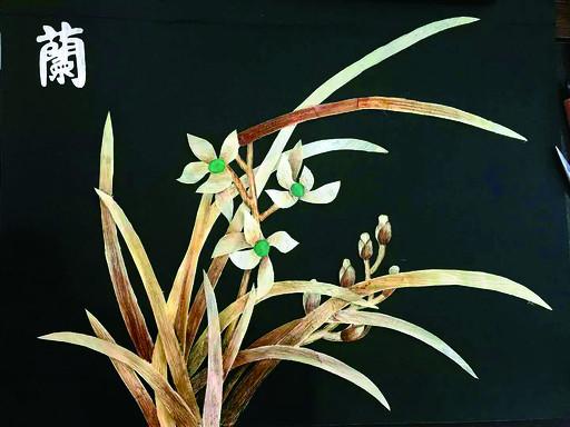 兴安盟草编工艺作品让传统技艺生根发芽