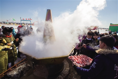 百人同吃火锅