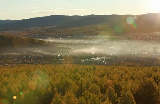 根河一个被寒冷沐浴并充满诗意的净土,一个有着别样风情的纯洁冬季