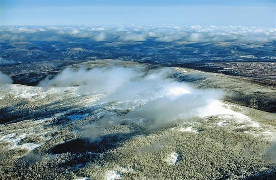 林海雪原。