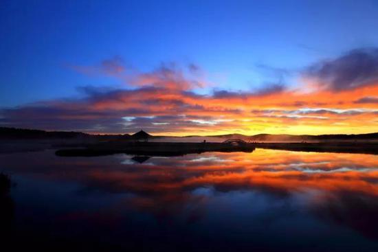 库布其国家沙漠公园承包你的早晨和夜晚!