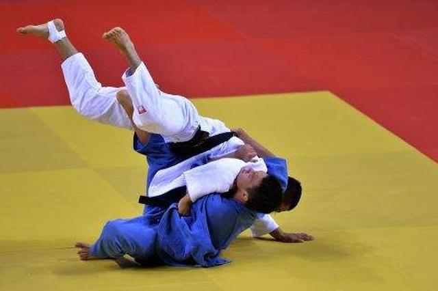 全国柔道公开赛 内蒙古队获3金5铜