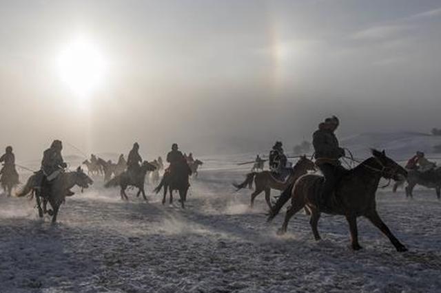 多伦县举办冬季冰雪旅游文化节