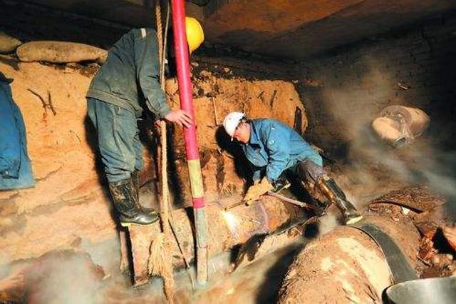 供热一次网爆裂80万平方米受影响 抢修后恢复