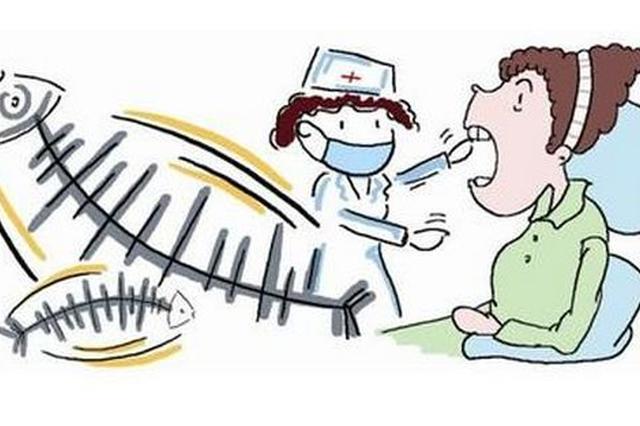 孩子鱼刺卡喉 医护人员下班后赶来医治