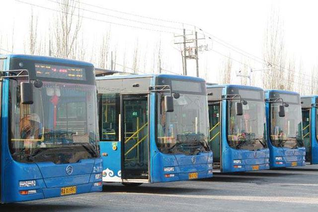 呼和浩特电动公交车在寒冬安全运行