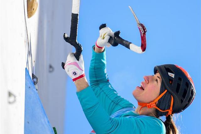 攀冰——国际登联世界杯中国站开赛