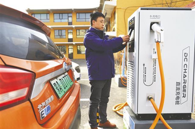 呼和浩特首家电动汽车充电站投入使用