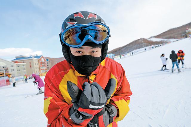 冰雪运动中的欢乐