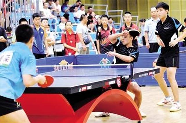 自治区运动会群众比赛乒乓球预选赛开打