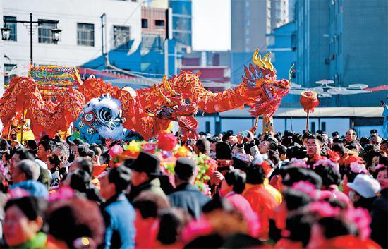 文化庙会闹新春