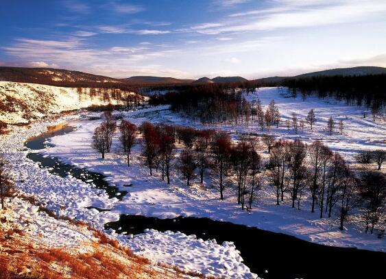 中国边寨雪城,冬季美得像童话