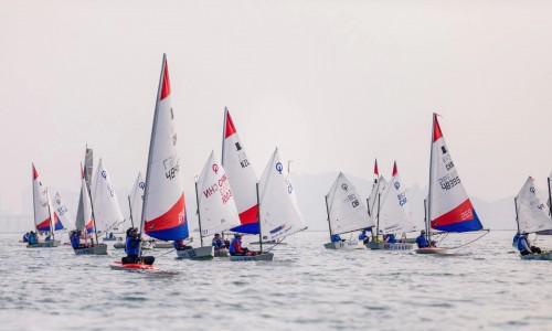 迪卡侬助力中国杯青少年帆船赛
