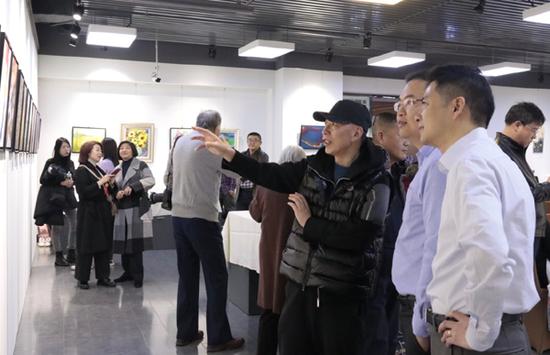 赤子归心---北京意象2019画展在中信国安艺术馆成功举办