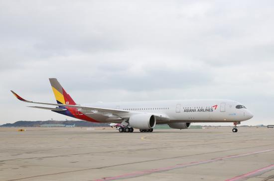 """韩亚航空首架A350""""客改货""""机正式投入运营"""