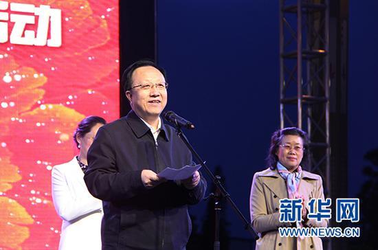 宁夏回族自治区文化和旅游厅厅长宋建钢致辞