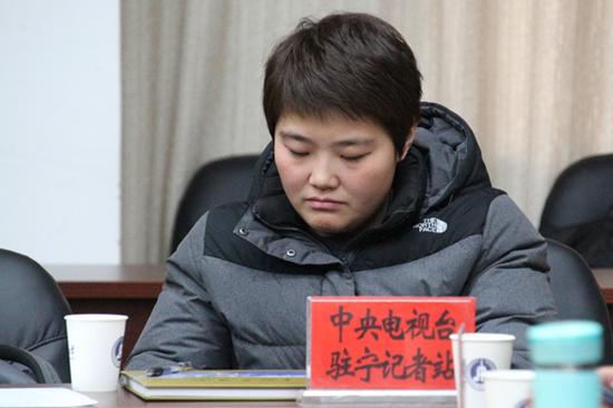 中央电视台驻宁夏记者站记者许梦哲
