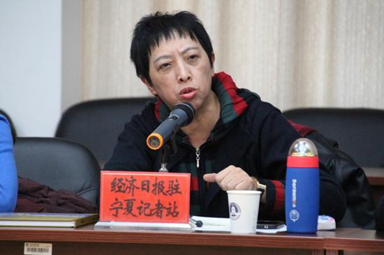 经济日报驻宁夏记者站站长许凌