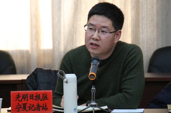 光明日报驻宁夏记者站站长王建宏