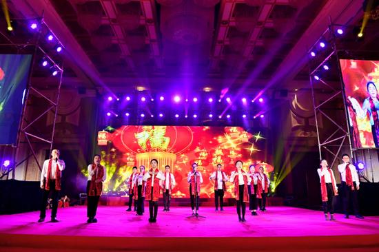 浙江大成建设集团西南公司手语合唱《明天会更好》