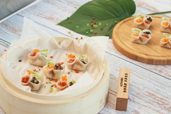 奥田集成灶蒸烤一体,美食烹饪教程之四喜蒸饺