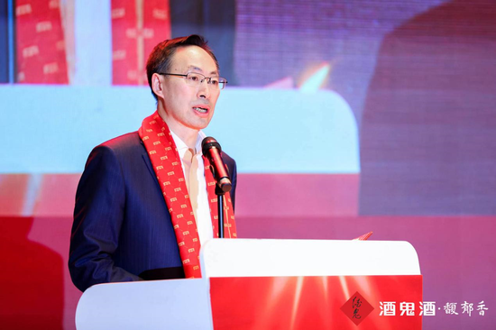 ▲中粮集团党组副书记、董事、总裁于旭波致欢迎辞