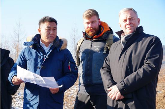奥地利考察团赴通化考察冰雪产业项目