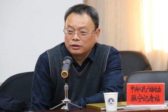 中央人民广播电台驻宁夏记者站站长郭长江