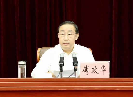 司法部部长傅政华讲话