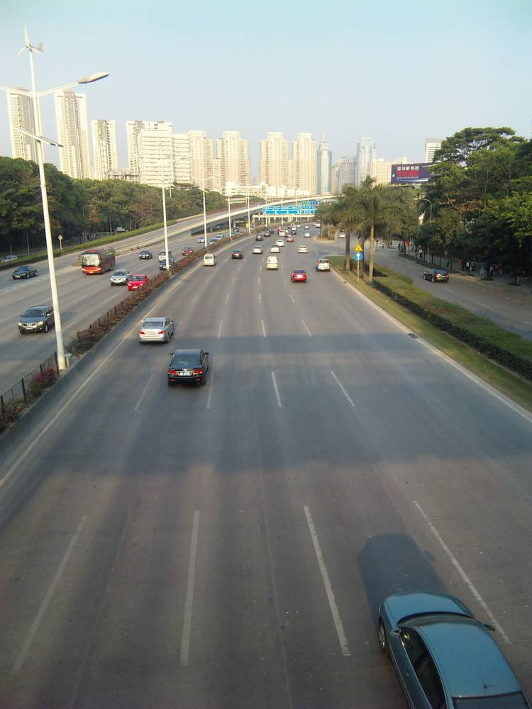 惠农区滨河大道延伸段工程可望年底完工