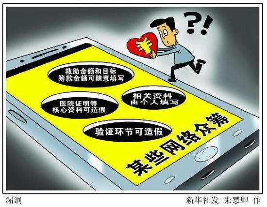 漫画:漏洞 新华社发 朱慧卿 作