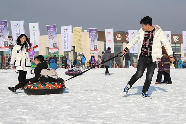 """""""新浪杯""""高山滑雪公开赛宁夏站激情开赛"""