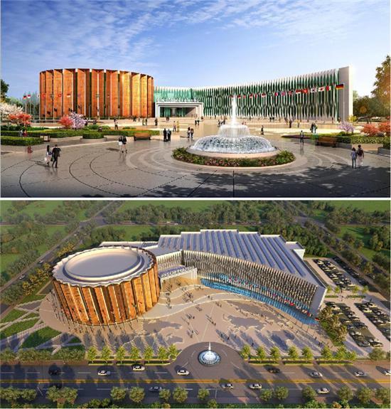 沈阳全球工业互联网大会永久会址建筑外观设计圆满收官