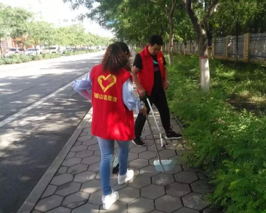 市地震局志愿者风采