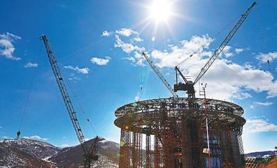 北京冬奥会张家口赛区 多个项目正式复工