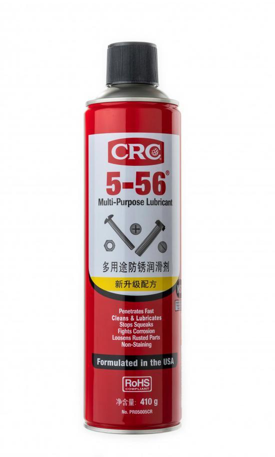 你肯定想不到CRC 5-56多用途防锈润滑剂竟然有这么多用途
