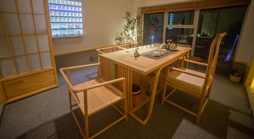 图为6茶共享茶室-武汉店