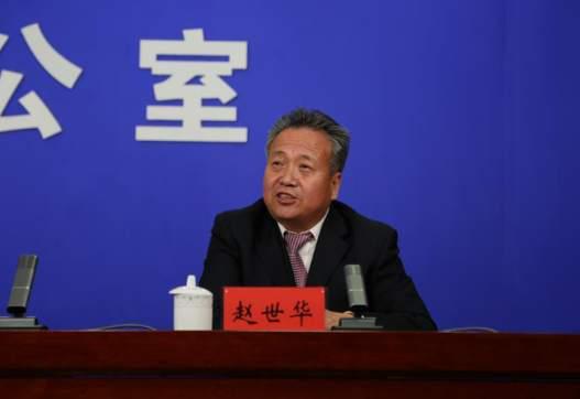 宁夏贺兰山东麓葡萄产业园区管委会常务副主任赵世华。李玲摄