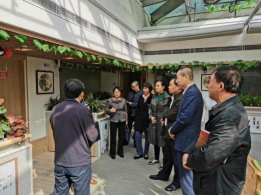 北京海淀政府部门领导莅临久久泰和指导社区养老工作