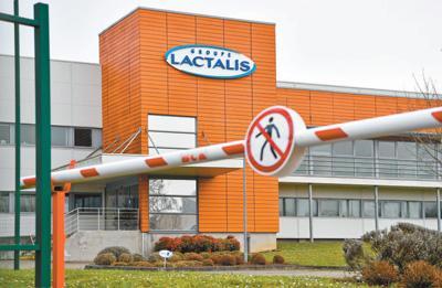 """法国""""问题奶粉""""生产商拉克塔利斯集团总部"""