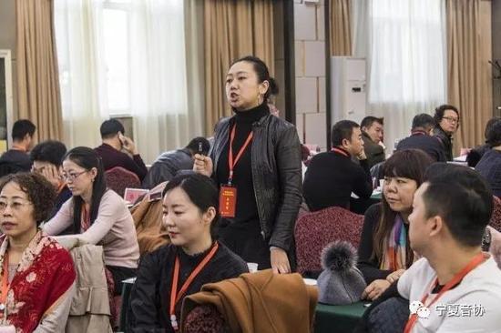 第一组分组讨论 胡菁华代表发言