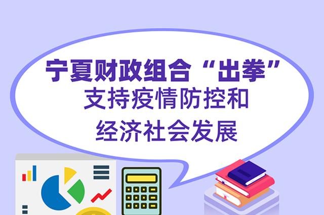 """宁夏财政组合""""出拳""""支持疫情防控和经济社会发展"""