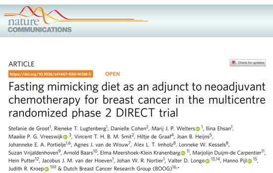 轻断食、生酮饮食改善癌症治疗?来看看《科学》怎么说