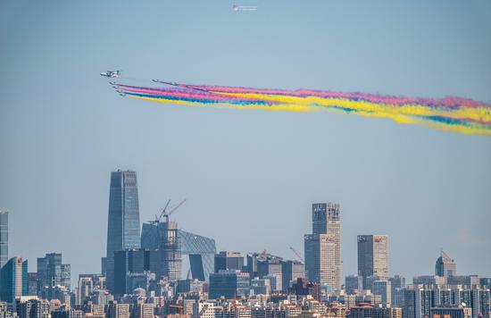 视觉中国500px摄影社区征稿作品——阅兵时刻