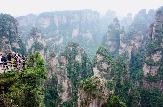 武陵源景区风景